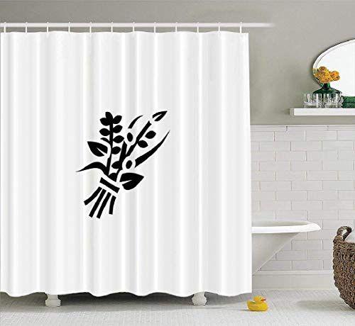 Spxubz Herbs Shower Curtain Bundle Flat Leaf Bouquet Fine Food