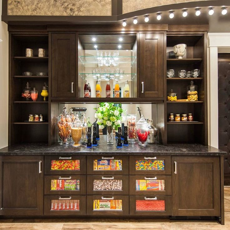 Theater Room Snack Bar: 25 Best Home Theater Concession Stands Images On Pinterest