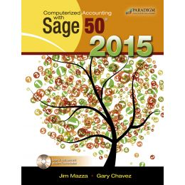 Computerized Accounting with Sage 50® 2015 by Paradigm Publishing, LLC teaches all of the key accounting software skills supported in Sage 50® Complete Accounting, plus all of the accounting concepts associated with each chapter.