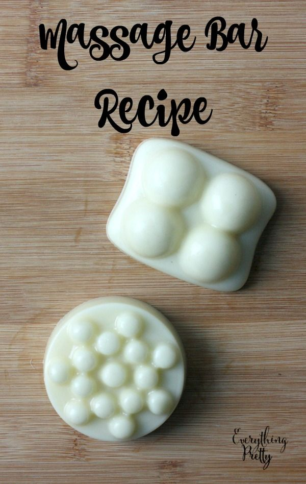 DIY Massage Bar Recipe via www.yourbeautyblog.com #KYTrySomethingNew {ad}