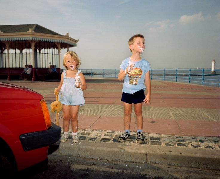 "Martin Parr, New Brighton, England, 1983-85, from ""The Last Resort"""