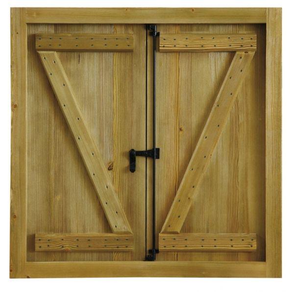 Ventana Rustica Mod3 | Puertas Calvo