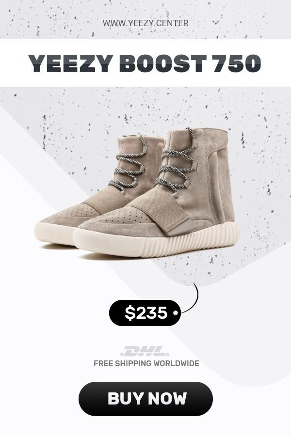 best loved a7eea 41308 Mens size the best Adidas Yeezy Boost 750 Gray / White in ...