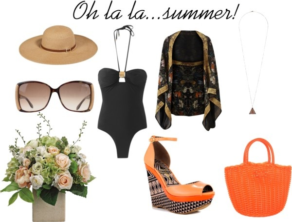 """when the summer comes"" by amaliateodora on Polyvore"