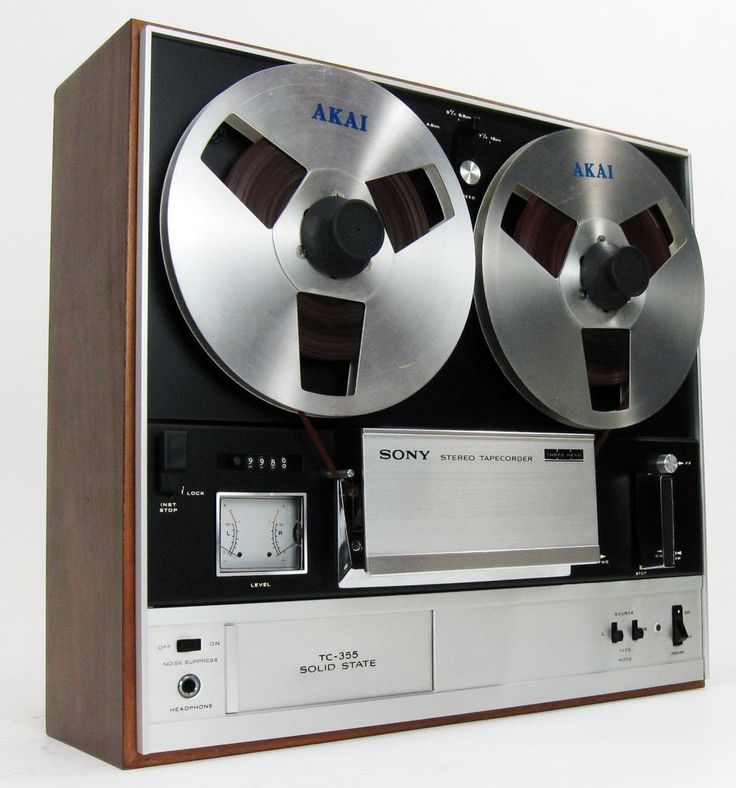 Sony tc 355 reel to reel deck serviced w noise reduction for Balcony noise reduction