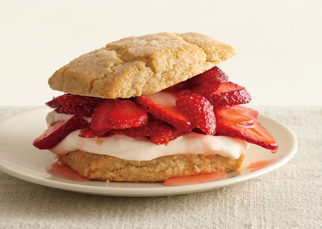 Almond-Oat Strawberry Shortcakes - Grande Ronde, Oregon. anytime in June.