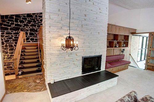 Mid-century living room designs.