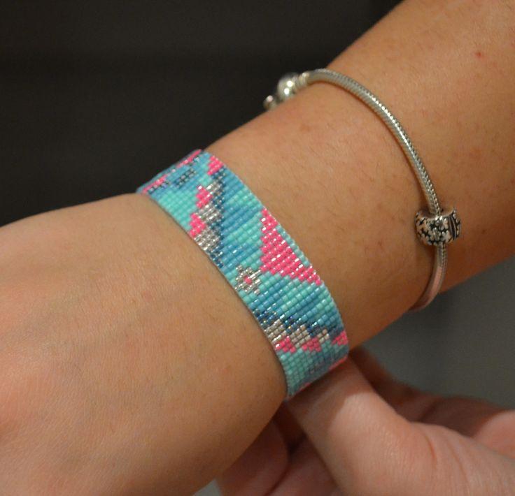 329 best bracelet br silien perles images on pinterest. Black Bedroom Furniture Sets. Home Design Ideas