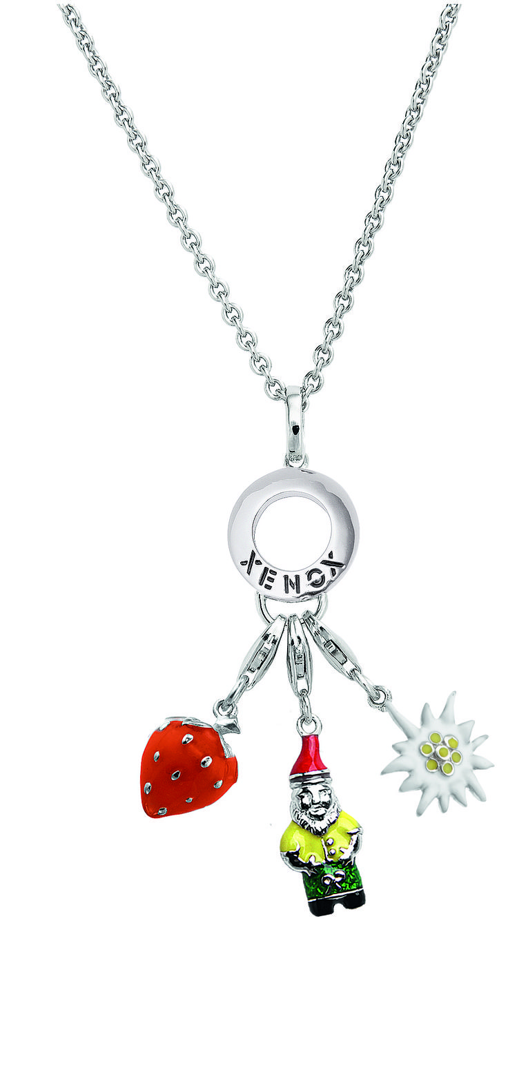 XENOX Lucky Charms Träger #silver #charms #pendant #necklace #jewellery #stylish #fashion #preppy