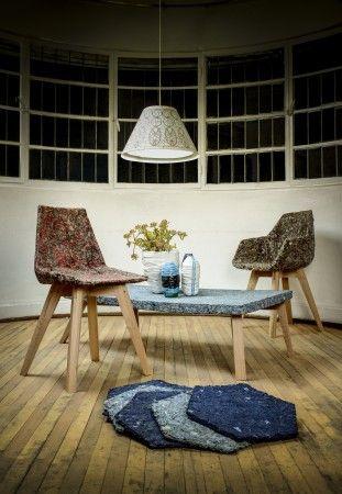 The Reliving Room  recycled furniture by Bernardita Marambio | FUTU.PL