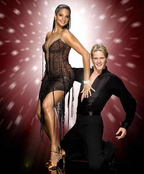 Alesha Dixon As Contestant In Strictly Come Dancing 2007 With Images Dance Dresses Strictly Come Dancing Dance