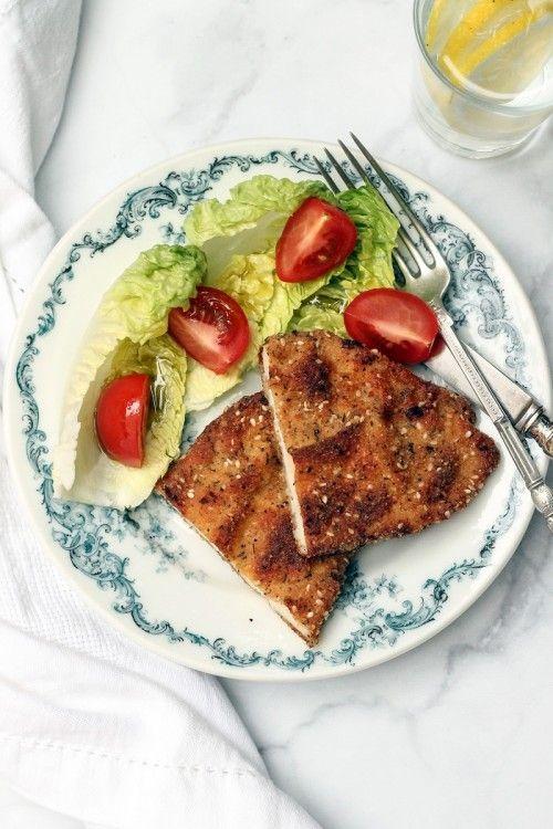 Arab rántott csirkemell recept