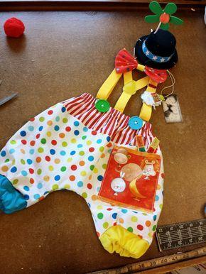 Chicos circo traje traje del payaso bebé 1er cumpleaños