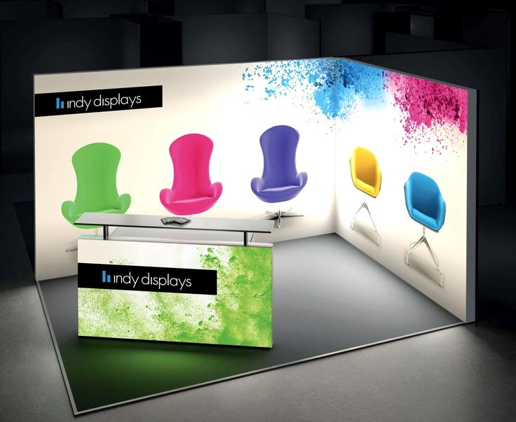 15ft LED Light Box Trade Show Booth