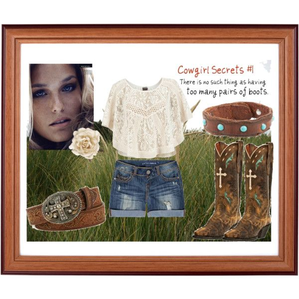 Summer Cowgirl Outfit!   created by farmerswife.polyvore.com