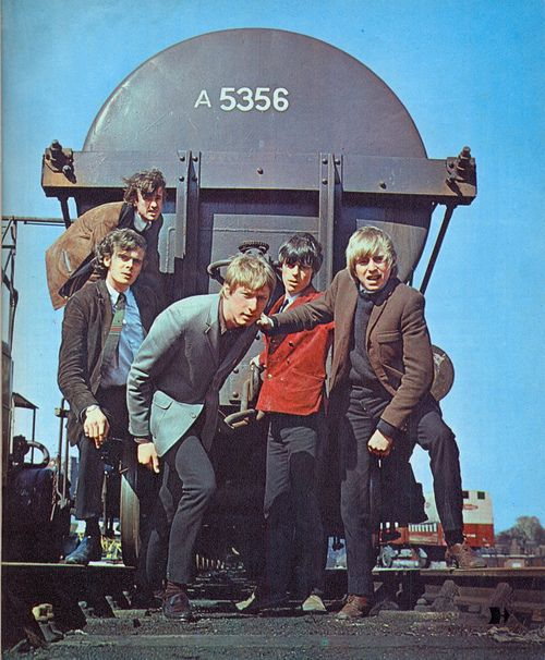 The Yardbirds, 1966 -- I got a heart full of ... soul / but great group & forerunners of much more to come...