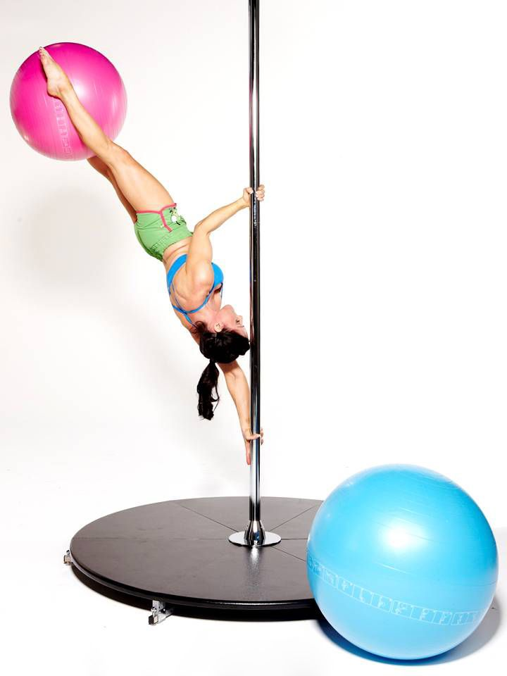 The X-STAGE LITE. Portable, no ceiling fittings required, 3m high 2 piece pole. Extendable legs. Static and/or spinning pole. Available in Stainless, chrome, Titanium Gold, brass, powder coated and silicone! 40, 45 & 50mm diameters. https://www.facebook.com/JamillaDevilleFanPage?fref=ts