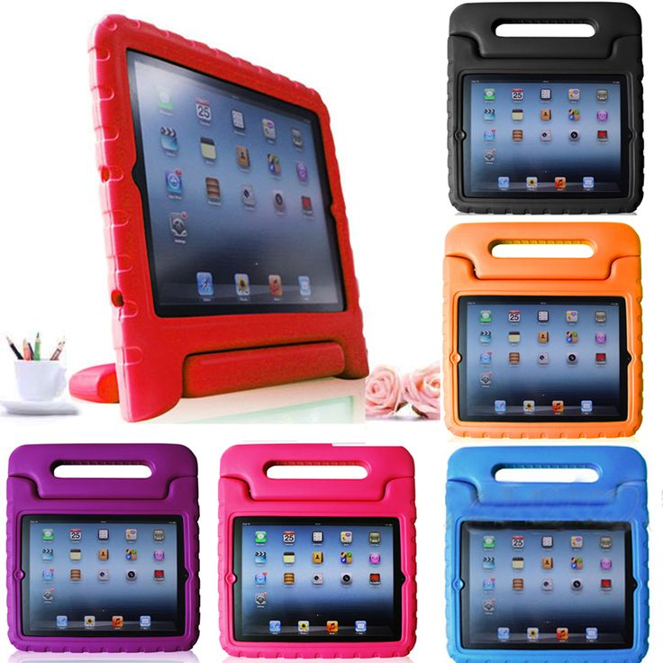 Kid Friendly Protective Shell Case for the iPad 2/3/4. Available in different colors for only    US$ 17.95