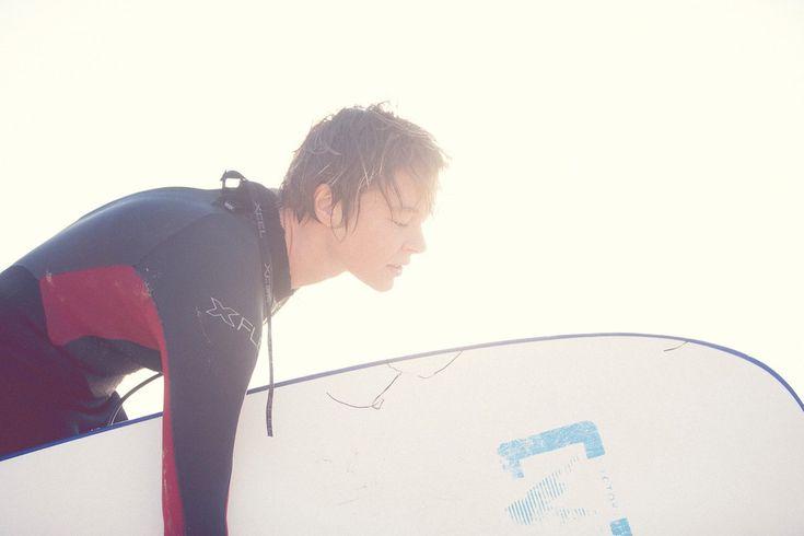 surf surfboard Spain beach surfing surfer girl