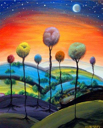 #trees #art @Katie Hrubec Hrubec Hrubec Schmeltzer jones