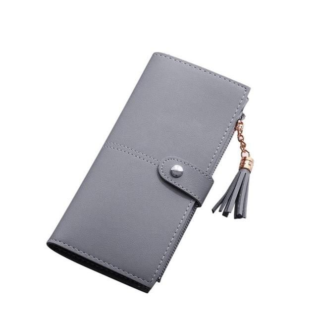 Xiniu ladies leather wallets Women Simple Long Wallet 2017 new fashion women wallets female cards holder bags #6M