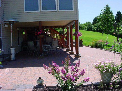 patio under deck - Under Deck Patio Ideas