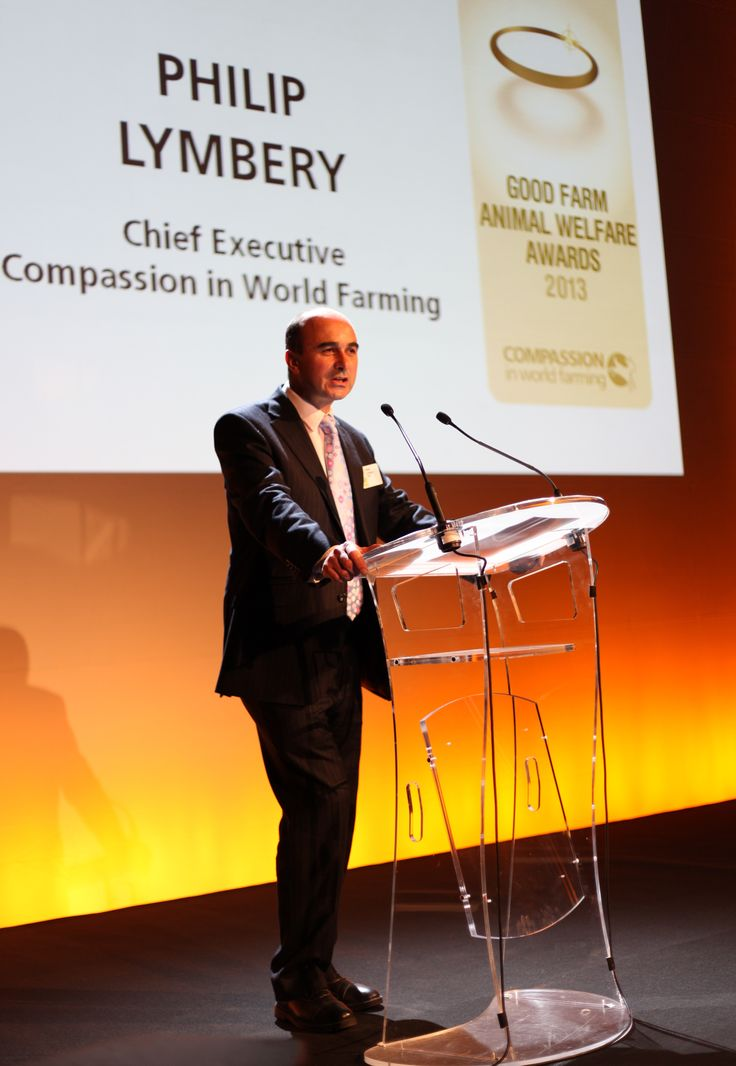 Philip Lymbery, Compassion's CEO