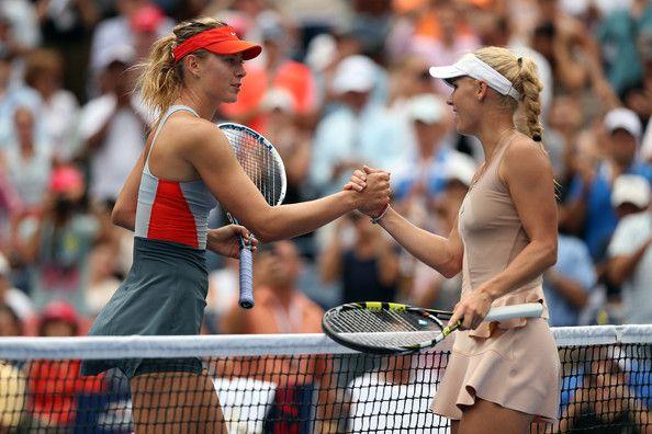 Maria Sharapova Photos Photos 2014 U S Open Day 7 In 2020 Maria Sharapova Photos Maria Sharapova Tennis