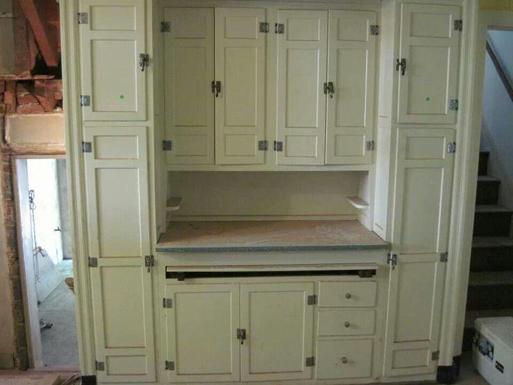 Good McDougall U0027Domestic Scienceu0027 Kitchen Cabinets Ca. 1920u0027s