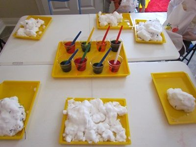 Snow scientists at play from Teach Preschool