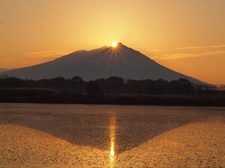筑波山 初日の出