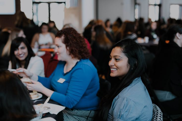 Over 180 attended the YWCA Young Women's Leadership Summit last week, learning from leaders in our community, networking, and sharing their truths. What does 'Leading with Compassion' mean to you?  Photo credit: Hailey Brown