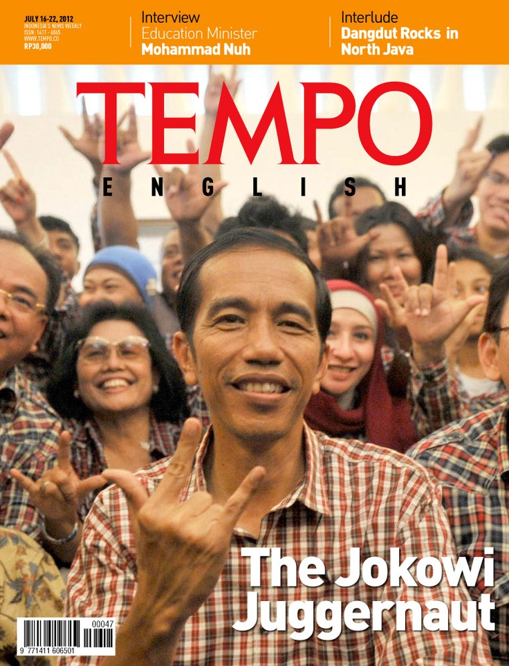 Tempo English - The Jokowi Juggernaut