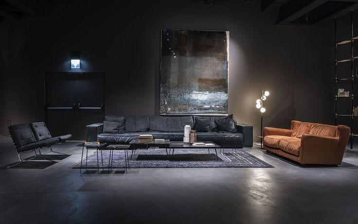 Baxter cinema fuorisalone 2016 baxter baxter sofa and armchairs pinterest cinema - Table basse molteni ...