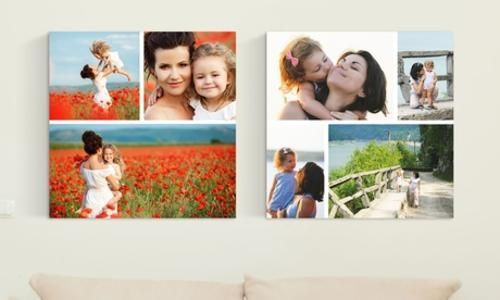 #Collage personalizzato in tela di varie  ad Euro 9.95 in #Groupon #Products home and garden2