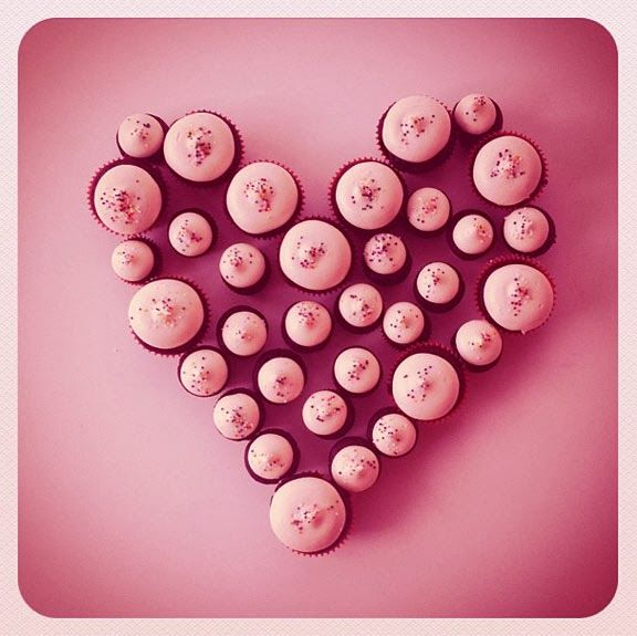 cupcake heart! #cupcakeheart #love #cococakeland