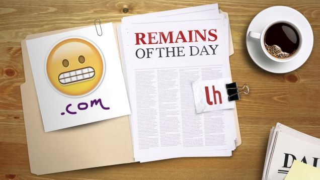 Remains of the Day: GoDaddy Creates an Easy Way to Register Emoji Domain Names
