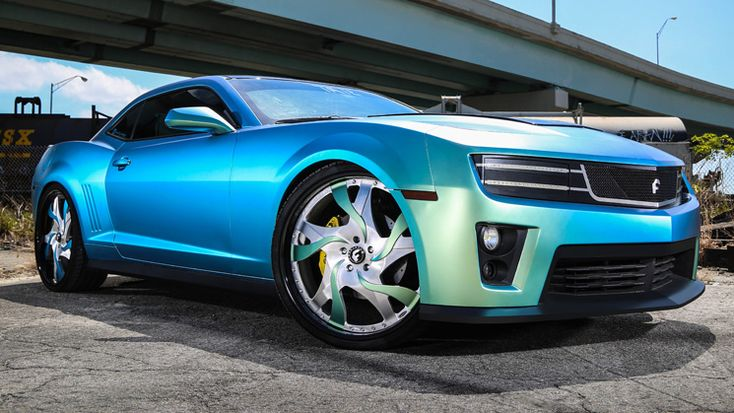 Chevrolet Camaro Ss W Forgiato Difalco Grille Chameleon