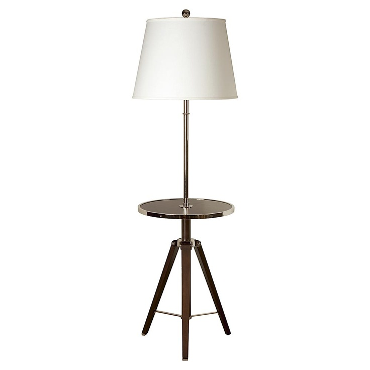 TUESDAY - 4/10/12 - Raleigh Floor Lamp: Floor Lamps, Living Rooms, Lights Floors Lamps, Rooms Ideas, Lights Baby Rooms, Tables Lamps, Families Rooms, Raleigh Floors, Java Floors