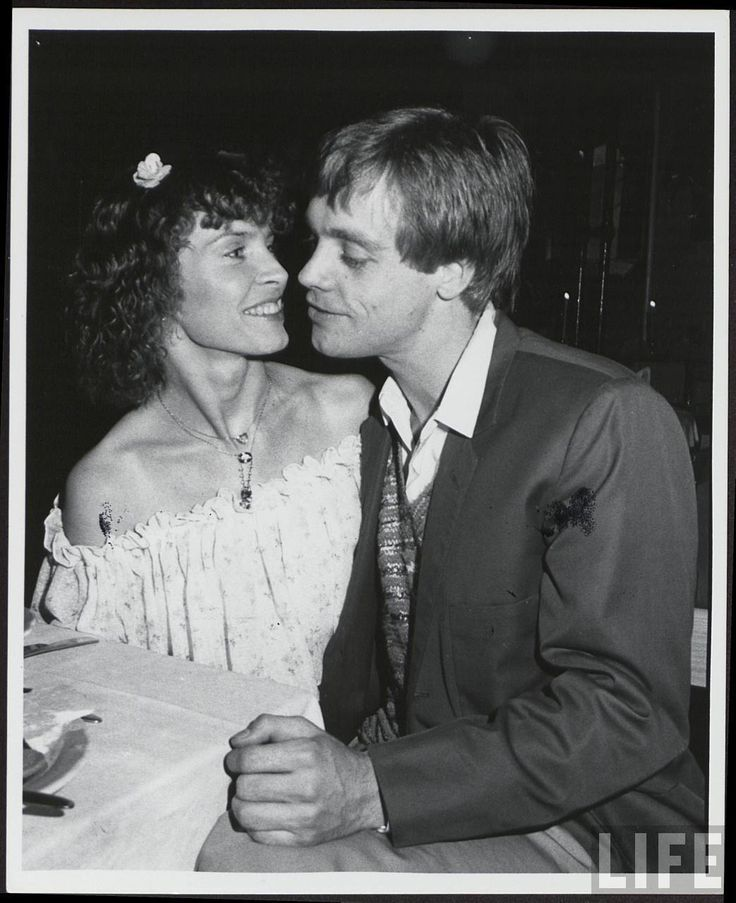 Mark with his later wife Marilou York Mark Hamill