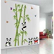 Zvířata+Samolepky+na+zeď+Samolepky+na+stěnu+Ozdobné+samolepky+na+zeď,PVC+Materiál+Snímatelné+Home+dekorace+Lepicí+obraz+na+stěnu+–+CZK+Kč+158