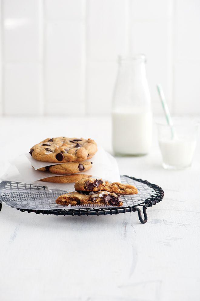 Minifournée de biscuits aux brisures de chocolat - Châtelaine
