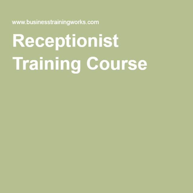 Receptionist Training Course