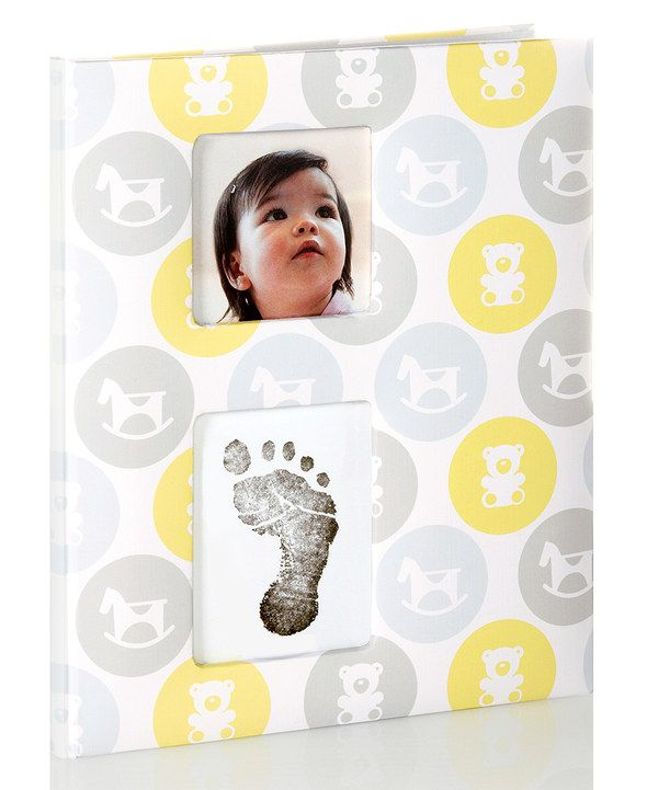 Pearhead Neutral Rocking Horse Nursery Collection Baby Keepsake Book by Pearhead #zulily #zulilyfinds