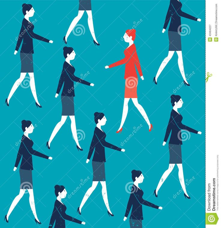 vector-woman-walking-against-crowd-illustration-created-adobe-illustrator-43464227.jpg (1260×1300)