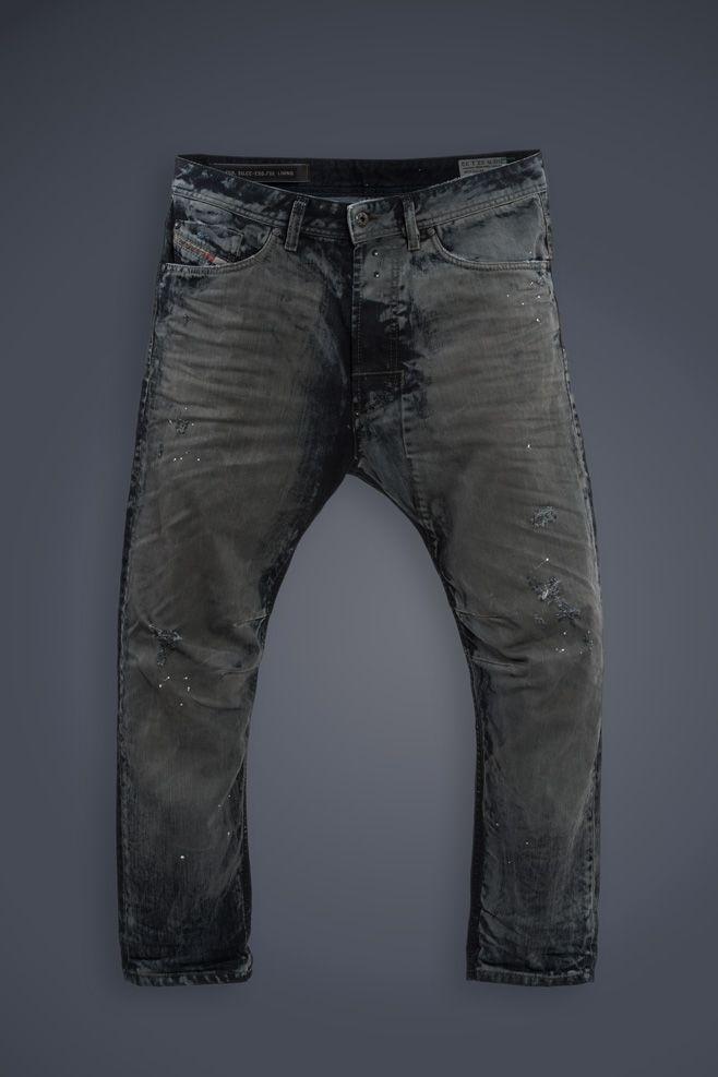Diesel #jeans: Narrot #blackandgray #mutation