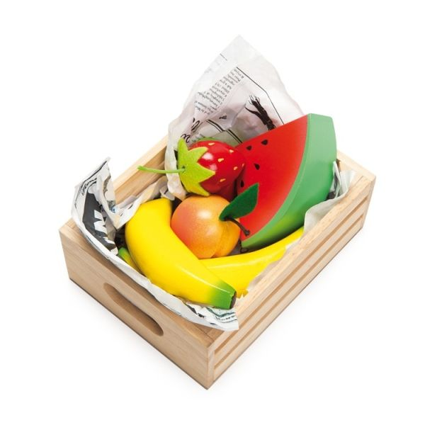 Smoothie Fruits in Crate #limetreekids