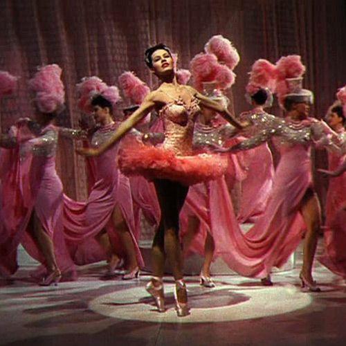 Cyd Charisse in the 1945 Hollywood musical ~ Ziegfeld Follies