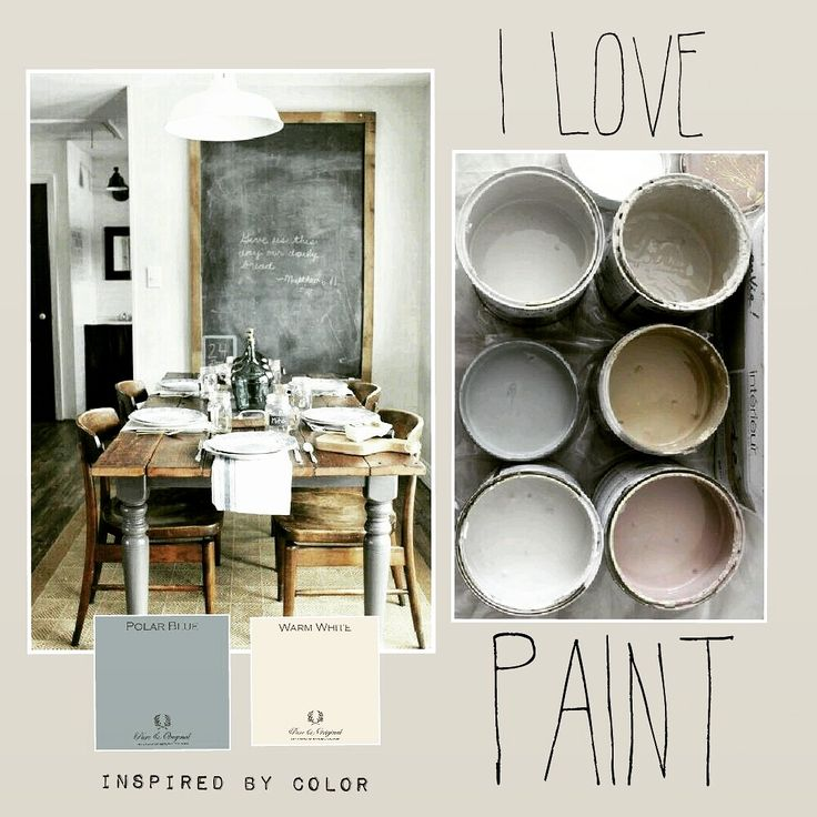 Inspired BY COLOR moodboard pureandoriginal-paint