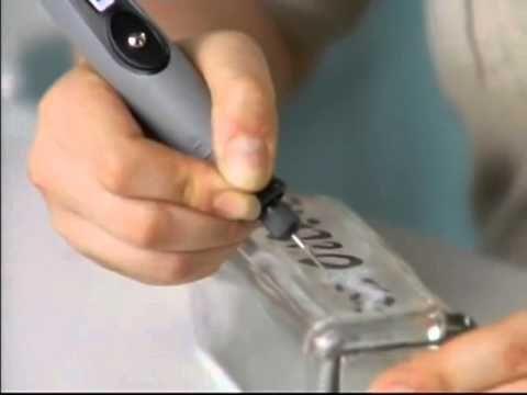 Gravando em Vidro com as Micro Retíficas Dremel - LojaTudo